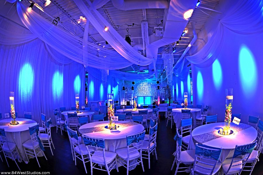 the convenient location and south beach style decor make this space perfect for south florida weddings bridal showers rehearsal dinners