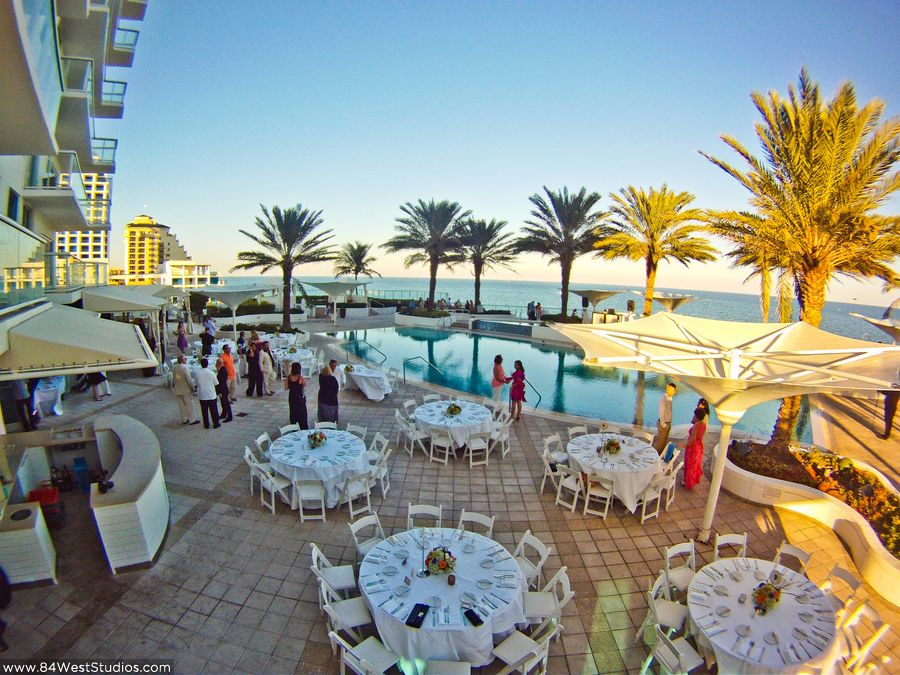 Erica Amp Jesuss Wedding At The Hilton Fort Lauderdale Beach Resort