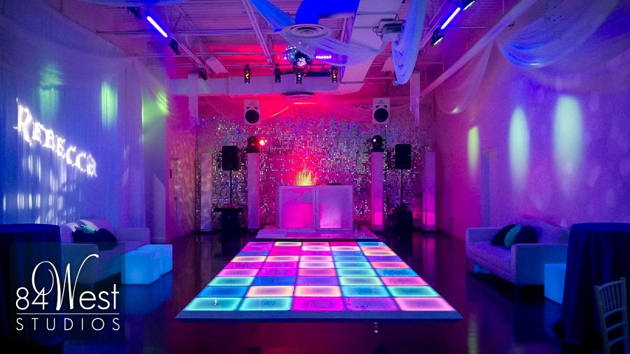 Led Dance Floor 84 West Studios South Florida Events
